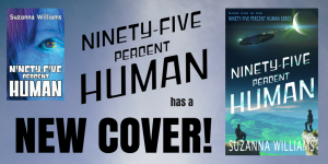 new cover for Ninetyfive percent Human