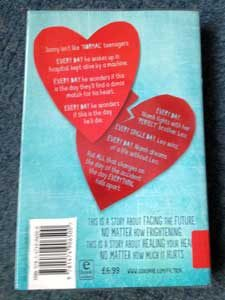 Instructions for a secondhand heart back cover
