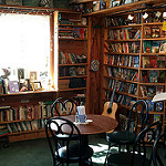coffee book shop photo