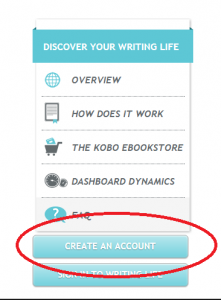 create kobo account