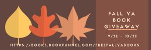 Fall YA book giveaway